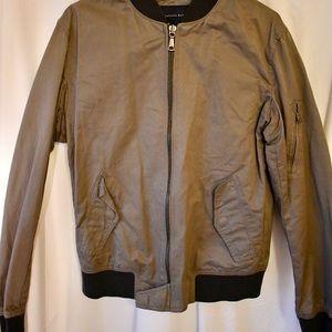 Men's cotton bomber jacket